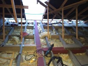 Cheshunt Loft Conversion - Floor Steels
