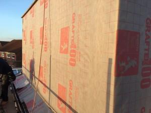 Cheshunt Loft Conversion - Dormer Felting