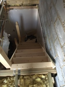 Cheshunt Loft Conversion - Stairs 1