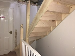Cheshunt Loft Conversion - Stairs 2