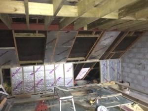 Cheshunt Loft Conversion - Insulation
