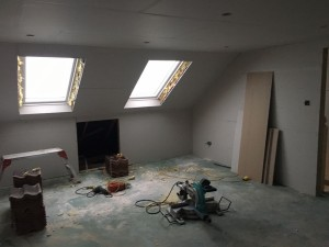 Cheshunt Loft Conversion - Plasterboard 4